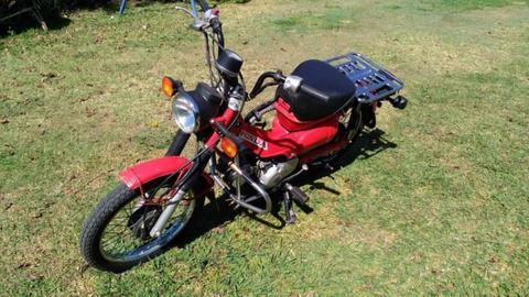 postie bike ct110