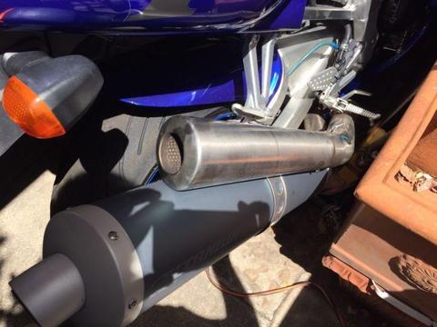 Yamaha R1 98 99******2001 exhaust muffler