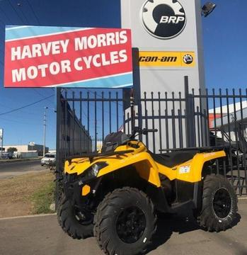BRAND NEW CAN AM OUTLANDER 450 PRO