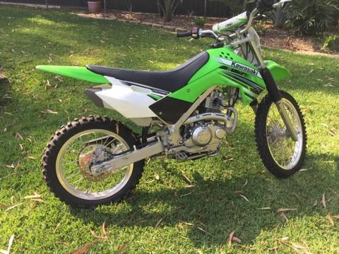 KLX140L Kawasaki Motorbike 2012