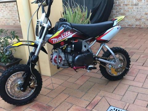 Thumpstar,pitbike,cfr50-125cc manual