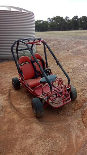 110 cc kids buggy needs work