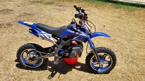 50cc kids petrol motorbikes