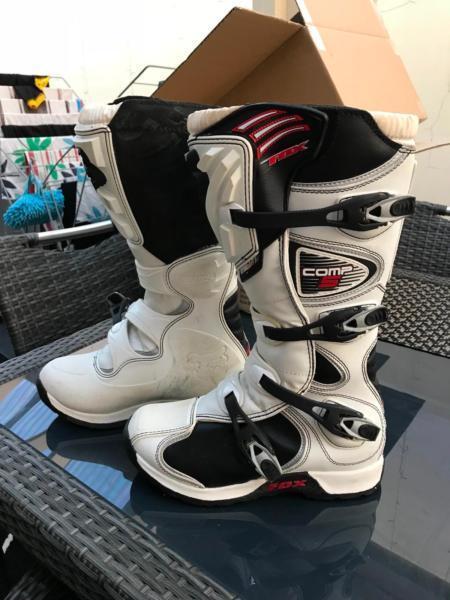 Fox moto cross boots