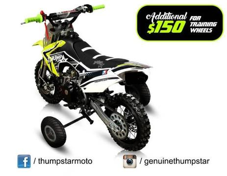 Thumpstar TSK 50cc | Pit Bike | Dirt Off Road | Motorbike