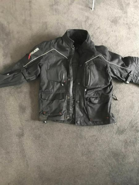 Dririder jacket, pants, boots and others
