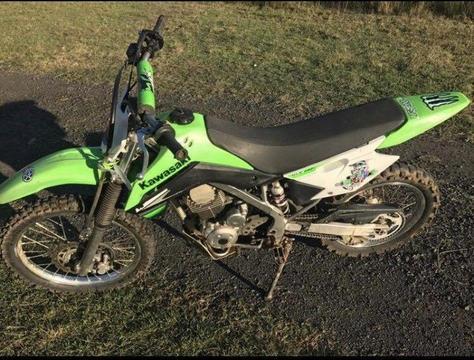 Kawasaki 140L Motorbike