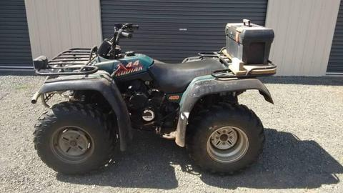 1995 Yamaha Kodiak 400 4x4 Quad, Farm Atv, Bush Atv