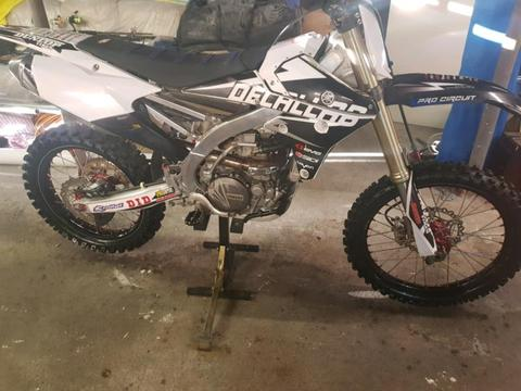 2014 yzf450 swap for boat