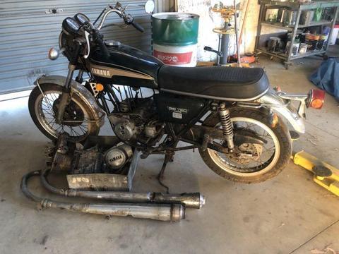 Yamaha tx750 project bike