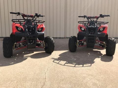 2x 110cc ATV Farm Quads
