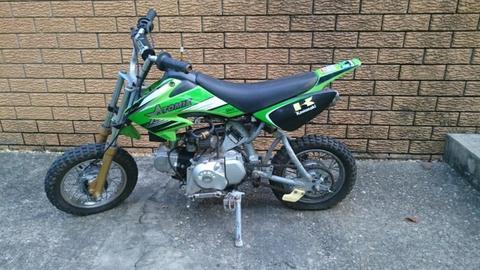50cc Atomik kids motorbike