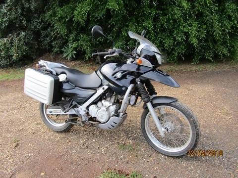BMW F650 GS Motorbike
