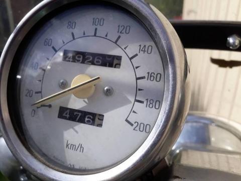 1992 Yamaha Virago 1100cc Motor Bike