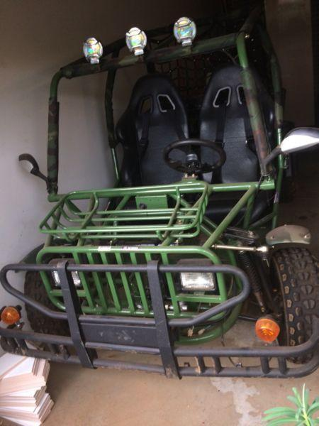 2015 150cc twin seater buggy