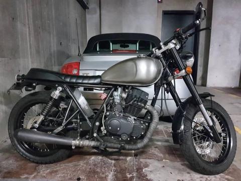 Learner legal Bratt / Cafe Racer. Sol Invictus Mercury 250cc