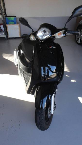 Vmoto Milan 50cc MKii scooter