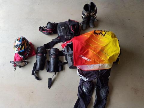 Mx Gear, Jersey, Pants, Armor, Braces, FOX, Alpinestar & MORE