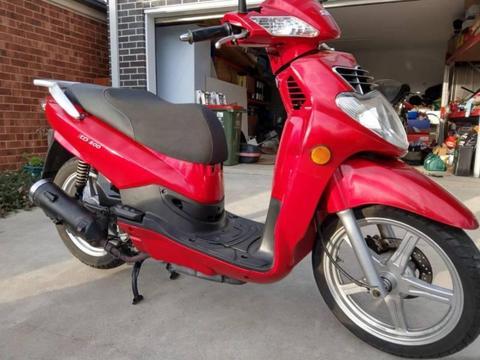 SYM HD200 Bolwel 2006