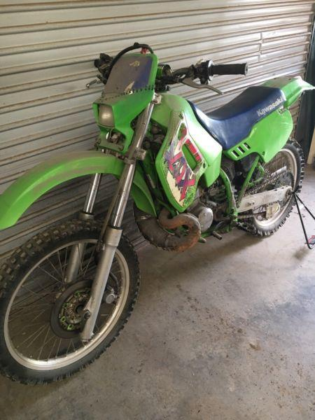 Kawasaki KDX200 1989 vmx