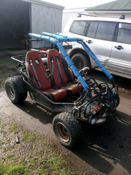 Two seater buggy,quad bike