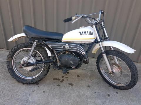 80cc Yamaha GT / MX80 Motorbike