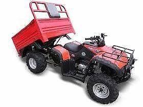 FARM QUAD WITH TIPPER TRAILER MOTORBIKE ATV UTV - Elstar Ag Boss