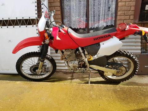Xr250 2001 road trail