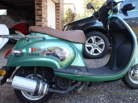 SCOOTERS X 2 BOTH 125cc
