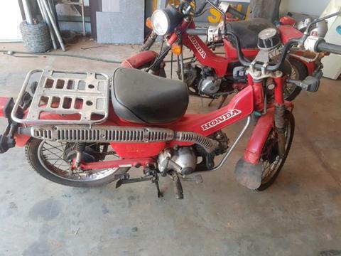 CT110 Postie bike
