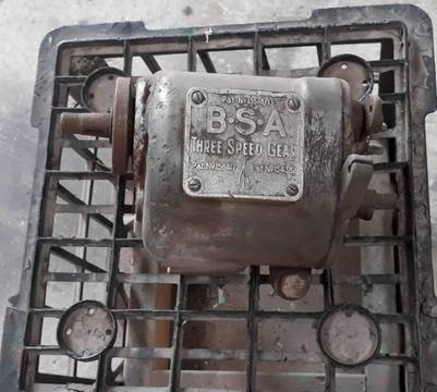 Bsa 1930 gear box project vintage
