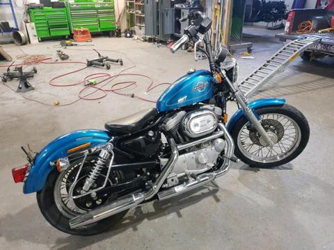 1995 sportster very low klms