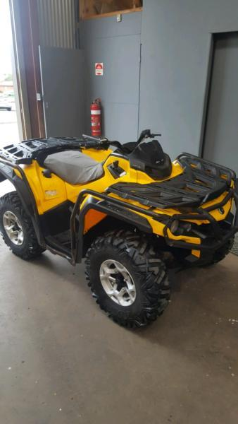 Can am out lander 500 Atv