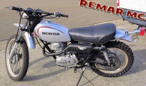 HONDA XL250K XL250 XL 250 MOTORSPORT 1972 - 1973 EXHAUST