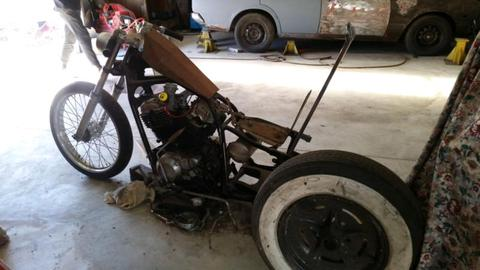 Chopper trike project