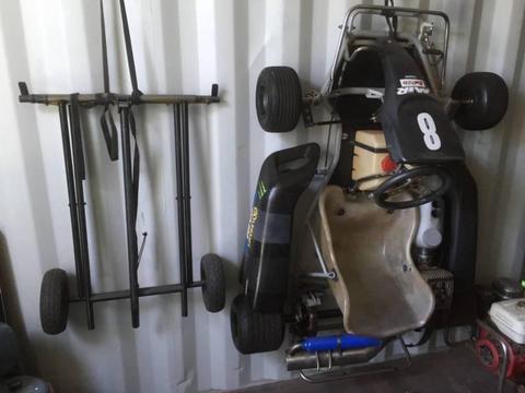 Go Kart - Petrol engine.... fast and fun!