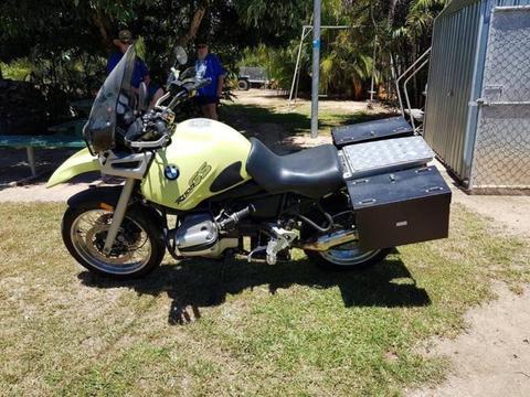 1995 BMW 1 Series R1100 GS Motorcycle