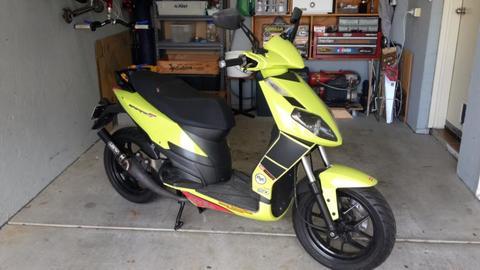Aprilia sportcity 50 scooter