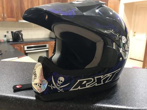 RXT Kids Motocross helmet