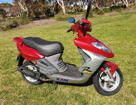 Bolwell Sym Scooter, Shark 50