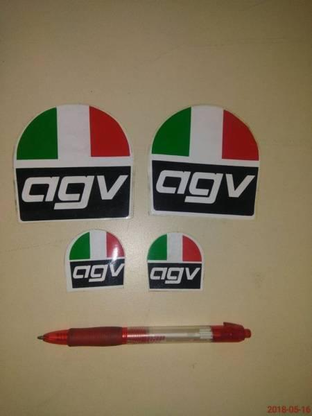 AGV HELMET STICKERS CLASSIC COLLECTABLE OLD SCHOOL