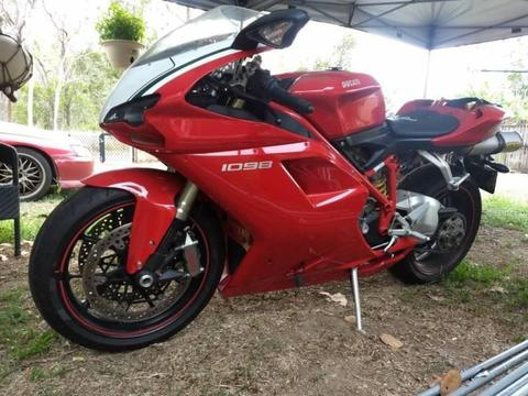 DUCATI 1098 damaged looking for offers