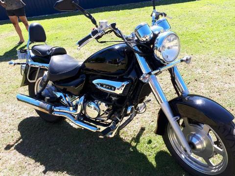 250 Hyosung Motorbike