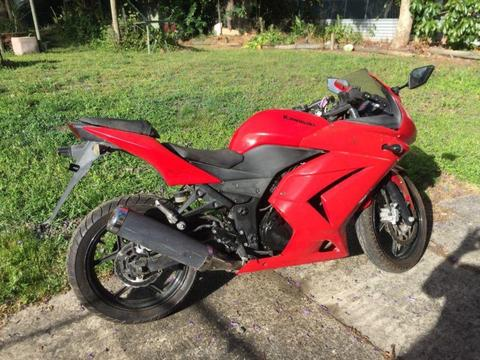 250cc ninja