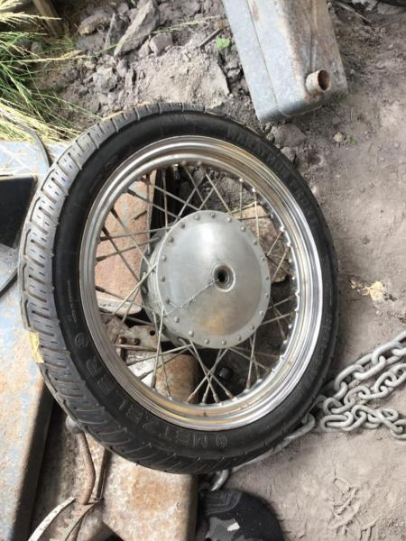Harley Davidson shovelhead front wheel