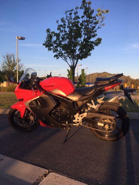 Hyosung 2014 250cc GTR (LAMS)