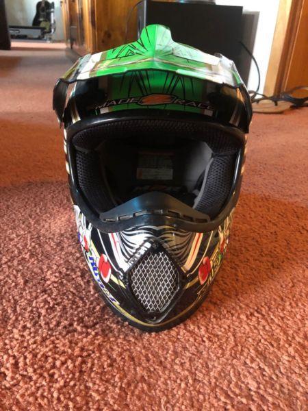 Medium Kids Motorbike Helmet