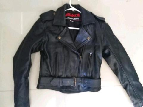 Ladies RJays Leather Jacket