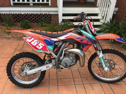 2014 KTM 85/105 SX Big Wheel Motorbike