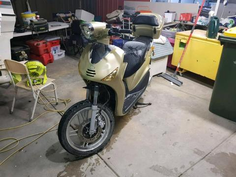 Scp 150cc sienna 4stroke scooter